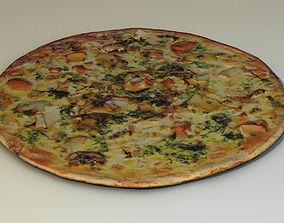 3D food Pizza
