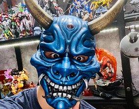 Hannya Mask -Satan Mask - Demon Mask 3D printable model 1