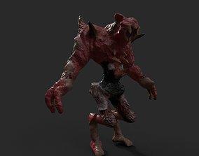 demons rought 3D asset