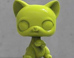 3D print model cat a toy