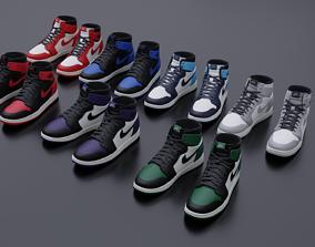 3D model Nike air Jordan sneaker