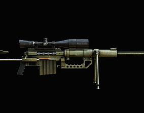 3D asset Cheytac M200 Gamerady Model