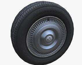 3D asset Classic sedan wheel PBR
