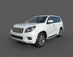 Low Poly Car - Toyota Land Cruiser Prado 2010 3D asset