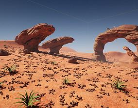 3D model Stylized Desert Pack Game Ready
