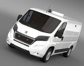 Peugeot Boxer Collection Services 2017 3D model
