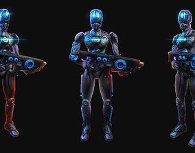 3D model Cyberpunk Mecha