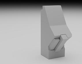 F16 Centre Console Pedestal 3D