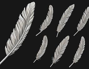 Feather Set 3D print model
