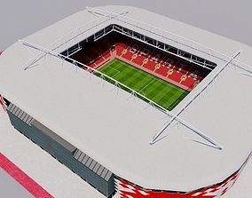 3D asset Otkrytiye Arena - Spartak Moscow