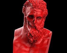 Hercules Ripped Face 3D print model
