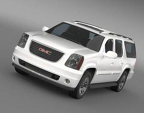 3D GMC Yukon XL 2010
