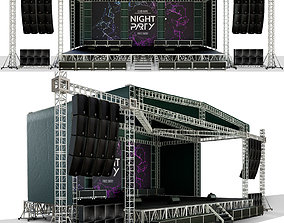 Concert scene 3D