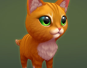 3D model Red cat