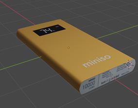 3D golden power bank