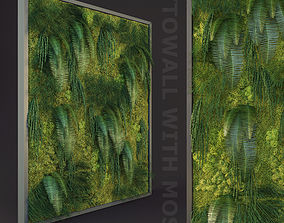 3D Fytowall with moss