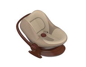 3D model child Baby Car Seat