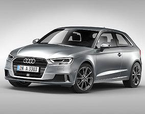 Audi A3 2017 3D model