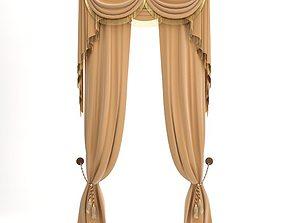 3D model Elegant Curtains