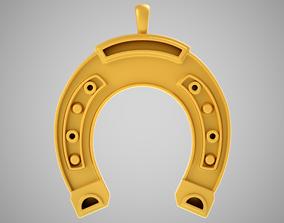 3D print model Horseshoe Necklace