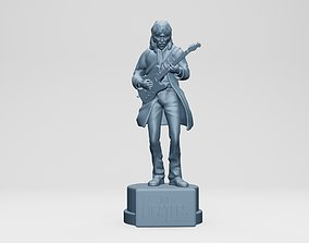3D printable model GEORGE HARISON - THE BEATLES - ROOFTOP