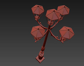 Highway Lamp Post 3D