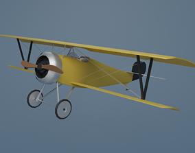 3D asset VR / AR ready Airplane