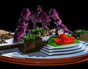3D print model series Stranger Things 3 Diorama STL
