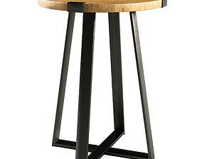 3D model Metal Wrap Side Table