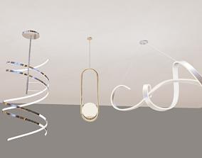 3D model Modern lights