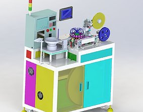 Small product packaging machine 3D asset