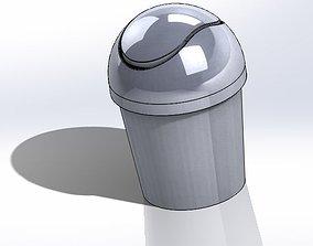 Desktop Trash Can 3D printable model