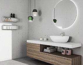 3D Bathroom furniture set Arcom eLy 4