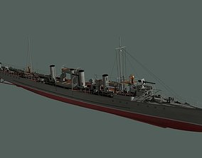 3D Destroyer Sokol