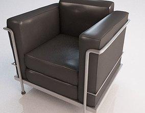 3D Le Corbusier Chair