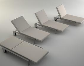 3D Chaise by Marmol Radziner