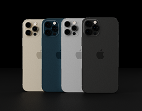 Apple iPhone 12 Pro in all Official 3D asset