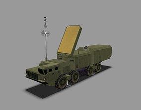 3D asset S300 Radar