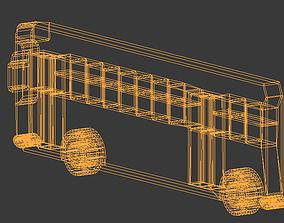 simple bus eurobus 3D print model