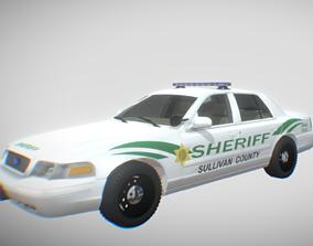 3D model US Police Cruiser