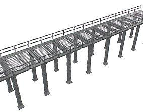 Sc Fi Bridge 3D asset