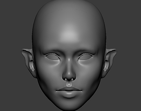 3D print model Fenya - SD BJD head