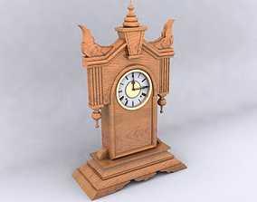 3D model Antique Clock