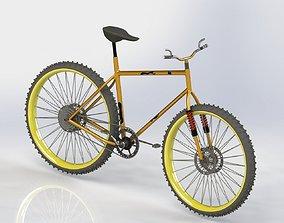 3D model bike industrial