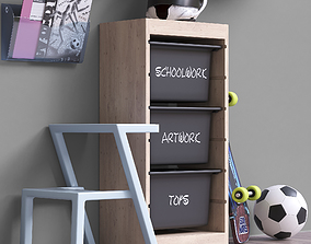 Toys and furniture set 49 3D