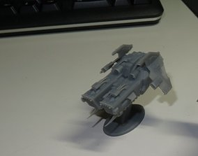 DEATH FROM THE SKY SET 6 THE ASSAULT Epic - 3D print model