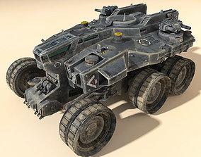 3D model SciFi Heavy Vehicle