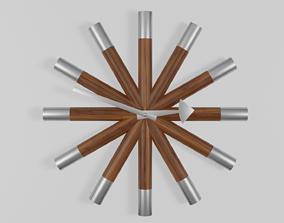 3D model Wheel Clock