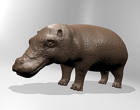 Hippopotamus2 3D printable model
