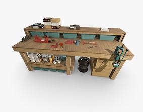 3D asset Ammo Reloading Workbench